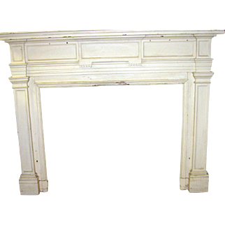 19th Century American Pine Neo-Georgian Mantle