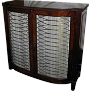 19th Century English Regency Mahogany Bookcase