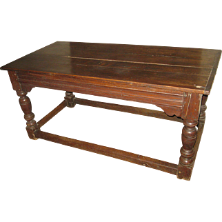17th Century Jacobean English Oak Refectory Table