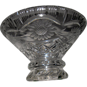 Waterford Irish Leaded Crystal Antique Footed Bowl