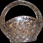 Waterford Irish Leaded Crystal Basket