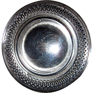 Sterling Silver Petite Footed Bonbon Dish