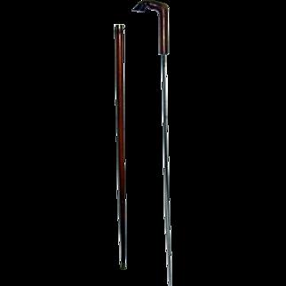 19th Century Walking Stick with Hidden Sword