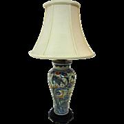 19th Century Chinese Porcelain Vase Lamp