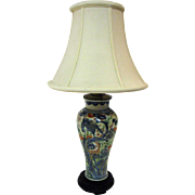 19th Century Chinese Porcelain Vase Lamp