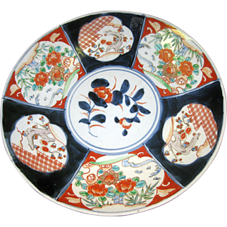 19th Century Japanese Imari Charger Meiji Period