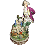 Antique Meissen Porcelain Figurine Couple