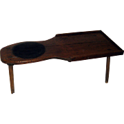 Primitive Early American Maple Cobblers Bench