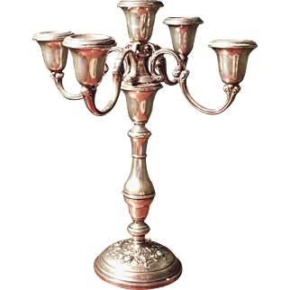 Vintage Gorham Buttercup 5-light Candelabra