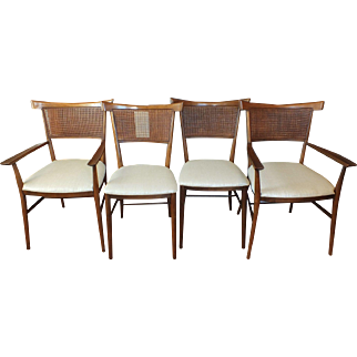 Mid-Century Paul McCobb Planner Group Dining Chairs - Four