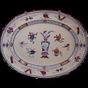 Minton Stoneware Chinese Pattern Platter c. 1880