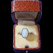 Victorian Cabochon Cut Opal & 9 Carat Gold Ring