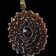Garnet Pendant-Circa 1900