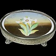 English Victorian 1837-1901 Tile Tea Pot Stand