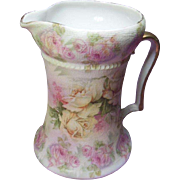 Royal Bayreuth= Bavaria Rose Tapestry Pitcher