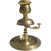 Large Brass Counter Tap Bell- Match Strike Holder and Tray Combination- Circa 1890-1930