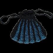 Exquisite Black Doll Purse