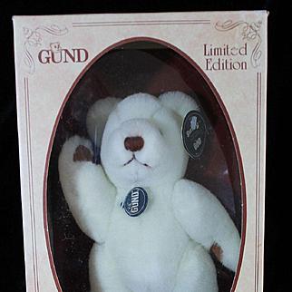 Vintage Mint in Box 1984 Gund Bear