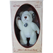 Vintage Mint in Box 1984 Gund Bear