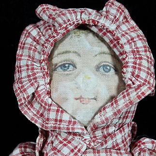 """Early 12"""" Topsy Turvy Doll"""
