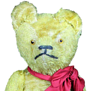 "Vintage 1920's 17"" Teddy Bear"