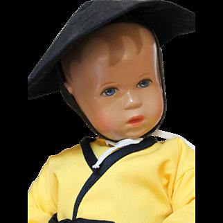 Limited Edition Kathe Kruse Asian Baby Boy