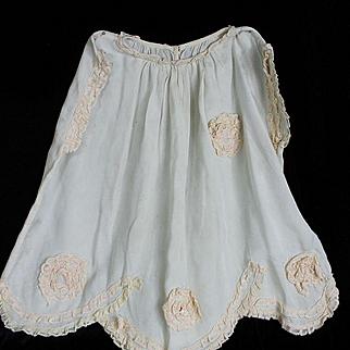 Vintage Silk Dress for Doll