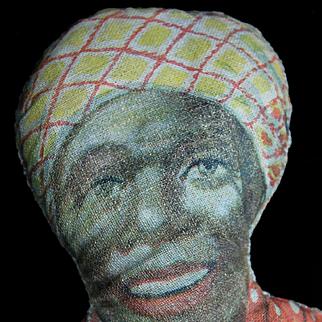 "Vintage 16"" Cloth Aunt Jemima Advertising Doll"