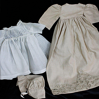 Two Vintage Doll Dress for Smaller Dolls
