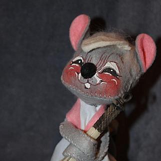 Original Whimsical Annalee Tennis Player Doll