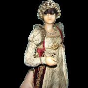 LaFitte Desirat Wax French Fashion in Coronation Ensemble