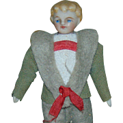 Antique A/O Dollhouse Boy