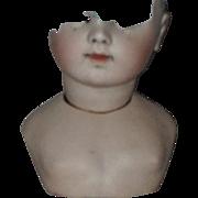 Antique BRU CM shoulder plate / partial head