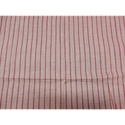 Vintage unused pink cotton striped voile fabric dolls