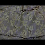 Antique shot silk wedding gown provenance 1854 dolls #1