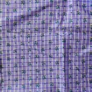 Antique silk fabric window pane grid dolls