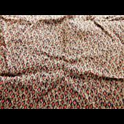 SALE!!!  Antique silk fabric quite unique dolls