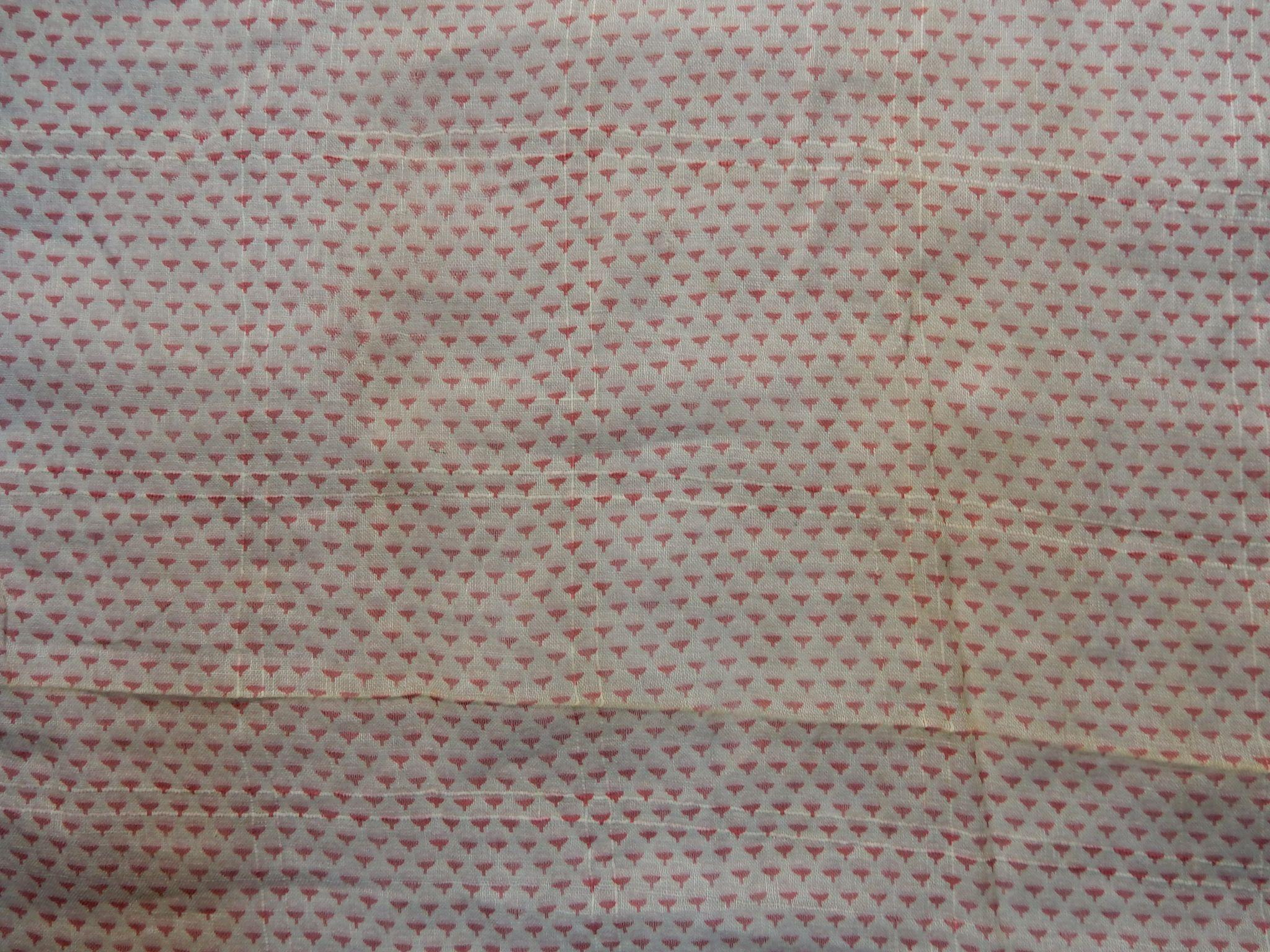 Antique civil war era cotton voile fabric tiny pattern for Voile fabric