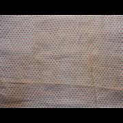 Antique Civil War era cotton voile fabric tiny pattern dolls 2