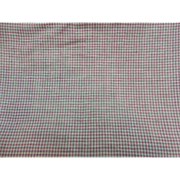 Antique teeny pink and white cotton check fabric dolls
