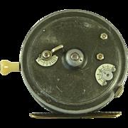 "Hardy Silex Major 4"" Fishing Reel 1928 Two Dial Jewelled Box"