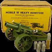 """Britains 9740 Mobile 18"""" Howitzer Field Gun"""