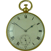 Richard Thomas Georgian 18K Gold Quarter Repeater Pocket Watch London 1824