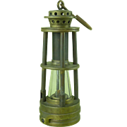 Ashworth,s Patent Hepplewhite-Gray Miners Gas Testing Lamp Davis Derby Coal