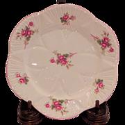 Shelley Bridal Rose Bread Plates