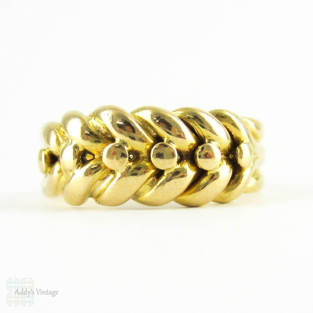 Gold Keeper Ring Meaning