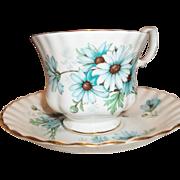 Vintage Royal Albert Tea Cup & Saucer - Marguerite