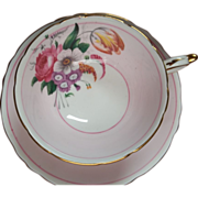 Vintage Paragon Tea Cup & Saucer - Floral Spray