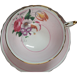 Vintage Paragon Tea Cup & Saucer - Floral Spray