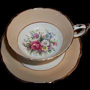 Vintage Paragon Cup & Saucer - Floral Sprays